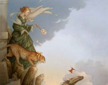 Michael Parkes Art for sale - Fearless