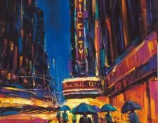 City scene by urban impressionts Michael Flohr