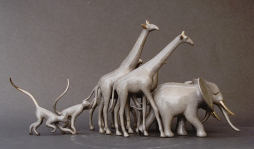Loet Vanderveen Sculpture - Noah's Ark Small
