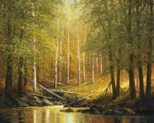 Fine art edition titled Aspen Summer by Charles Pabst