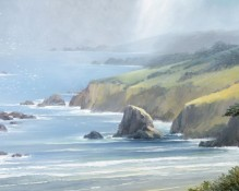Fine art edition titled Big Sur by Charles Pabst