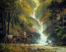 Fine art edition titled Hidden Treasures by Charles Pabst