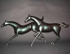 Vanderveen Bronze - Horses Galloping