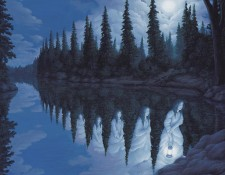 Rob Gonsalves Prints - Ladies of the Lake