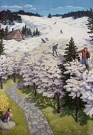 Rob Gonsalves - Spring Skiing