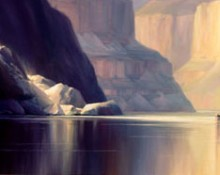 Fine art edition titled Through the Gorge by Charles Pabst