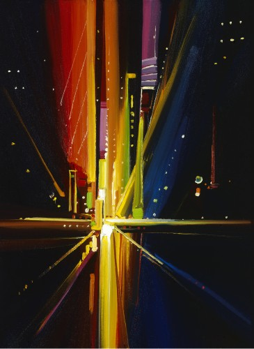 Fine art edition titled Time Square by Charles Pabst