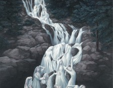 Rob Gonsalves Art - Water Dancing