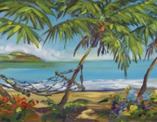 Fine art edition on canvas titled Sweet Life by Steve Barton