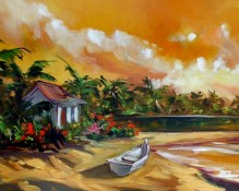 fine art limited edition titled tropical memories by steve barton