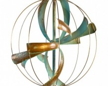 Lyman Whitaker Wind Sculpture - Nebula
