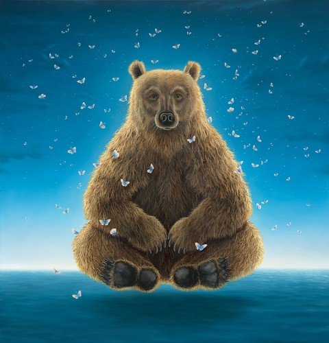 Robert Bissell Print - Sage of the Night
