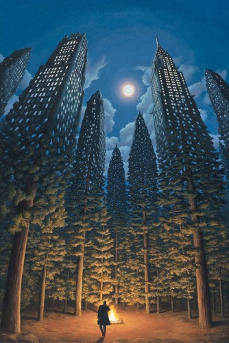 Rob Gonsalves - Arboreal Office