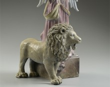 michael Parkes Art - Return of the Lion Bronze