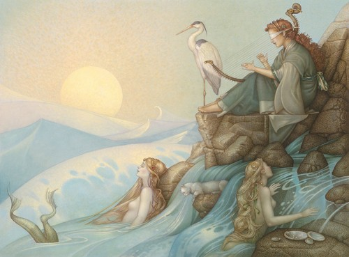 Michael Parkes Art for sale - Morning Song