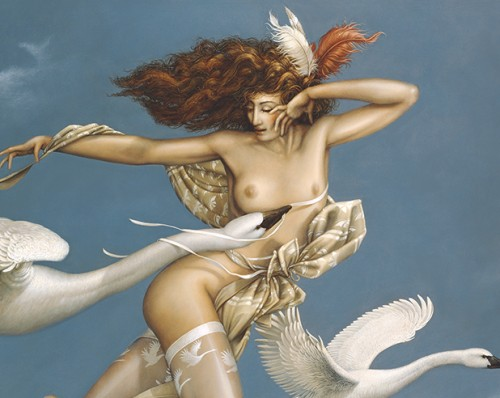 Michael Parkes Art for sale - Night Flight