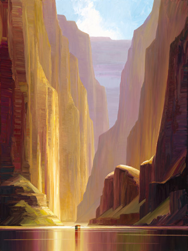 Limited Editon Giclee titled Grand Canyon Light by Charles Pabst