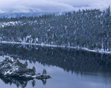 Jon Paul Photography - Winter Reflection Panorama, Emerald Bay