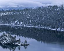 Jon Paul Photography - Winter Reflection Panorama, Emerald Bay