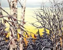 Maya Eventov - Untitled Winter Birch 179412