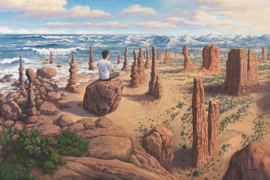 Pursuit of Balance by Rob Gonsalves