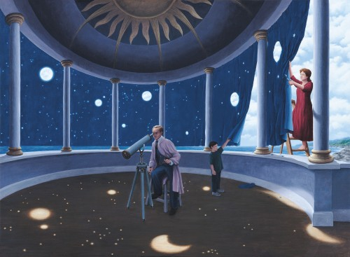 Rob Gonsalves Art - Astral Projection