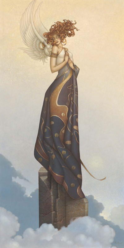 Michael Parkes Art - Morning Light