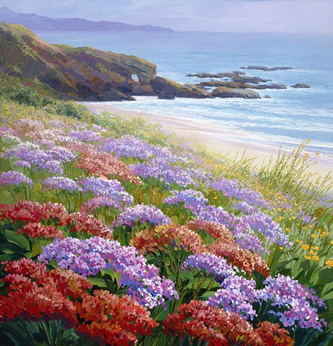 Fine art edition titled Aliso Beach by Charles Pabst