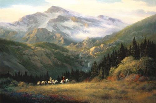 Fine art edition titled Glacier by Charles Pabst