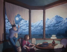 Rob Gonsalves Prints - Making Mountains