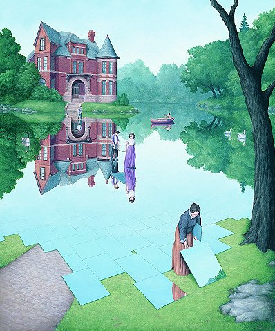 Rob Gonsalves Prints - Still Waters