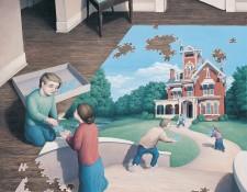 Rob Gonsalves Art - Unfinished Puzzle