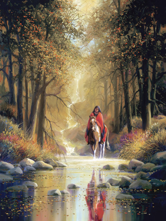 Forest Maiden Fine art edition on canvas