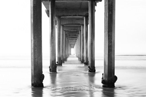 Jon Paul Photography - Scripps Pier, Horizontal