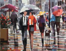 Aleksandra Rozenvain - Strolling the City