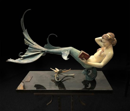 Michael Parkes - Daydreaming mermaid