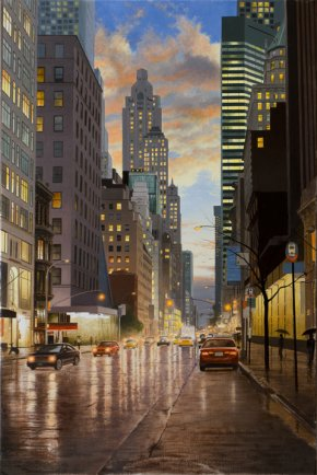 Alexander Volkov - Rain In New York City
