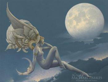 Moonstruck by Michael Parkes
