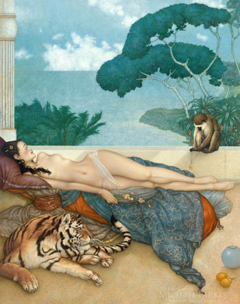 Going Nowhere 2020 by Michael Parkes